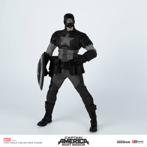Marvel x ThreeA NIGHT MISSION CAPTAIN AMERICA 1/6th Scale Collectible Action Figure