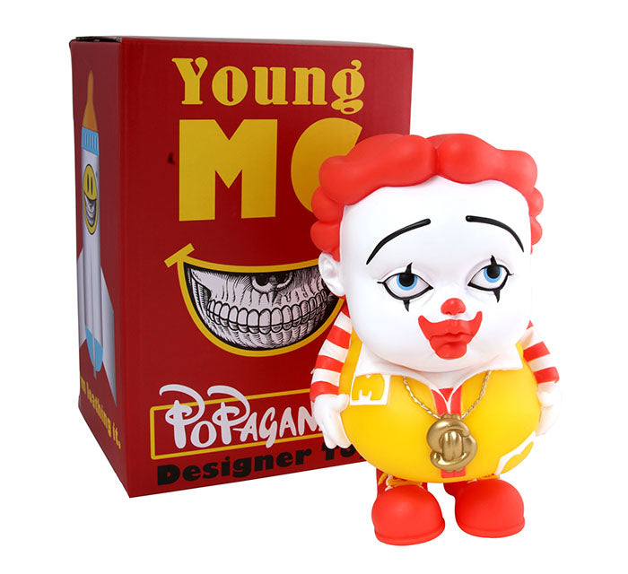 Ron English Young MC 7-inch vinyl figure PREORDER Ron English Vinyl Art Toy Tenacious Toys®