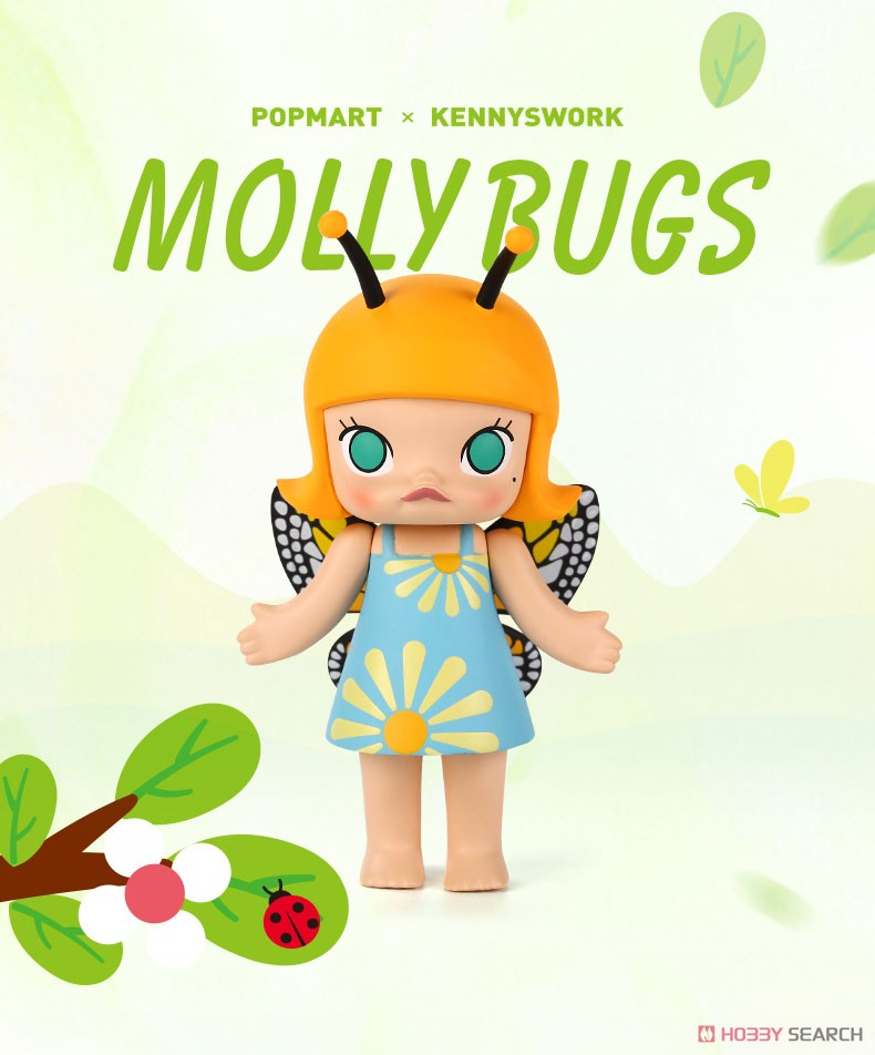 Molly Bugs 12-Piece Display Case by Kenny Wong x Pop Mart Pop Mart Vinyl Art Toy Tenacious Toys®