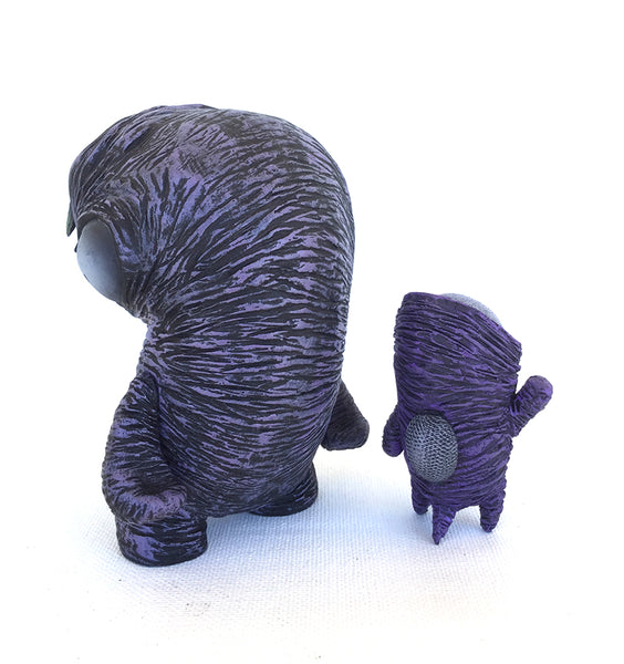 Nerviswr3k Purple Deluxe Inner Child Set vinyl & resin figures