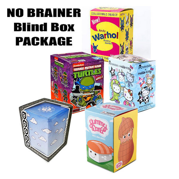 No Brainer Blind Box Package of 5 - Tenacious Toys®