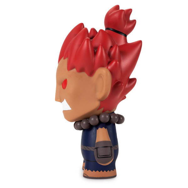 Street Fighter Akuma medium vinyl 7-inch figure by Kidrobot - Tenacious Toys® - 2