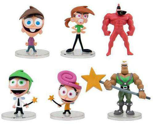 The Fairly OddParents 2-Inch Deluxe Mini-Figure 6-Pack - Tenacious Toys® - 3