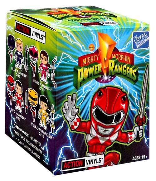 Mighty Morphin Power Rangers Blind Box Action Vinyls Mystery Figure by The Loyal Subjects