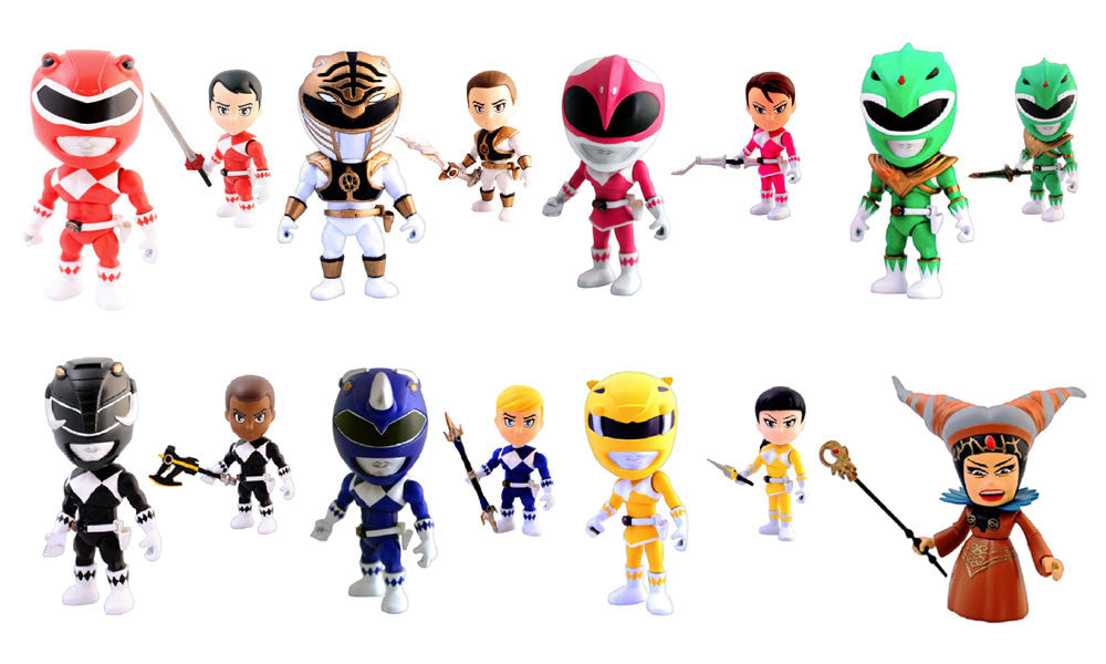 Mighty Morphin Power Rangers Blind Box Action Vinyls Mystery Figure by The Loyal Subjects - Tenacious Toys® - 1