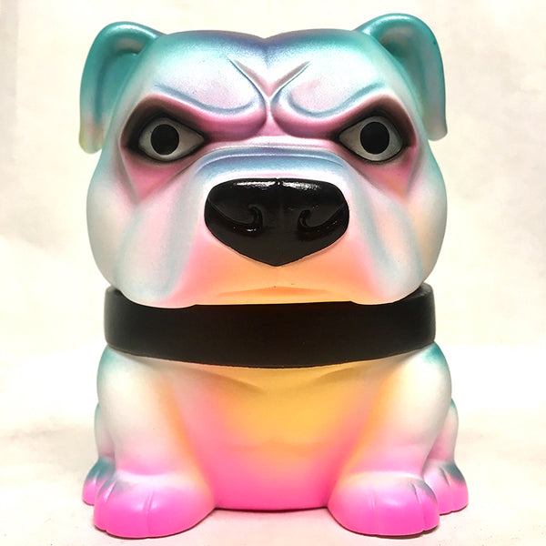 "Mexifubi Danger Dog 5"" vinyl custom painted by Rampage Toys Tenacious Toys Custom Tenacious Toys®"