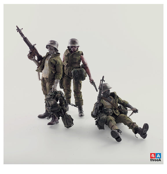 3AGO Dead Easy Corp 3-PIECE SET of 8-inch Adventure Kartel action figures by 3A - Tenacious Toys® - 2