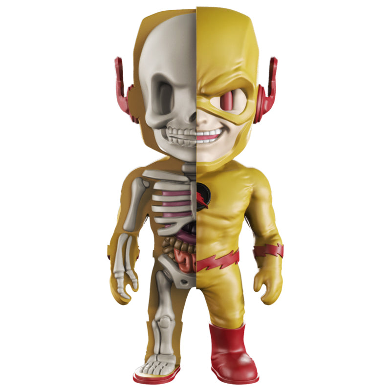 XXRAY DC Reverse Flash 4-inch figure by MightyJaxx and Jason Freeny