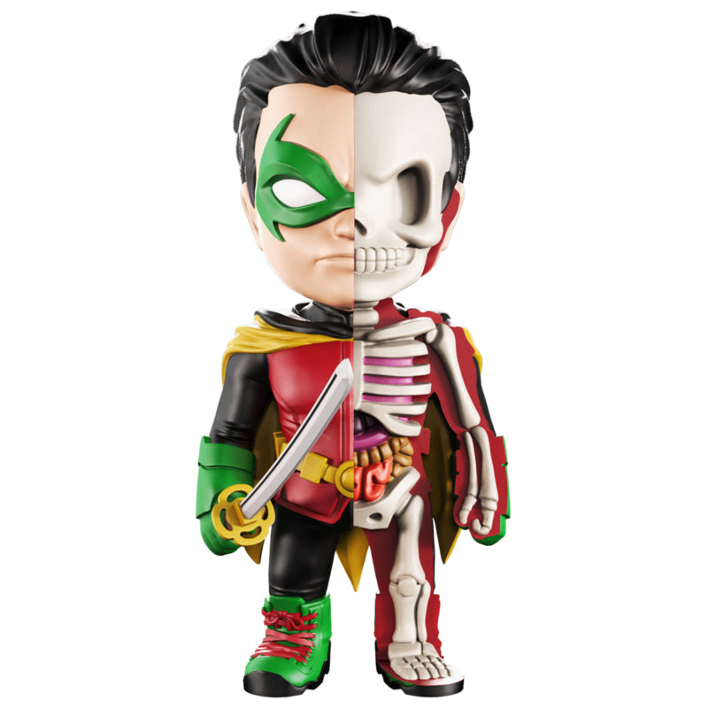 XXRAY DC Robin 4-inch figure by MightyJaxx and Jason Freeny
