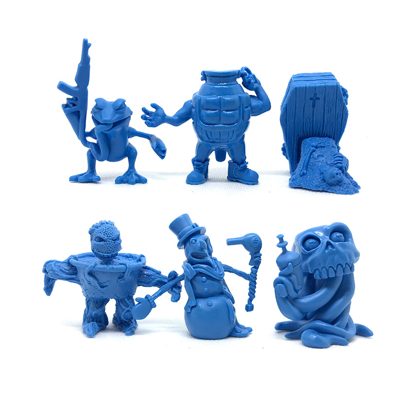Run-A-Mucks Mini Figures Series 1 Tenacious Exclusive Blue by Last Resort Toys Last Resort Toys Vinyl Art Toy Tenacious Toys®