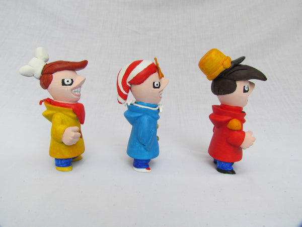 The Snap, Crackle and Pop Crew Gobi Customs by Alex Vaughan - Tenacious Toys® - 6