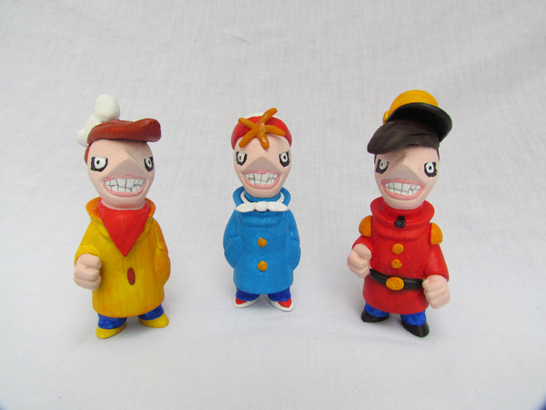 The Snap, Crackle and Pop Crew Gobi Customs by Alex Vaughan - Tenacious Toys® - 1