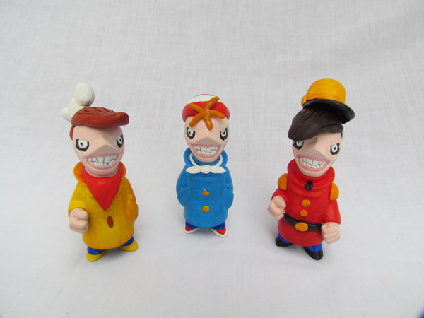 The Snap, Crackle and Pop Crew Gobi Customs by Alex Vaughan - Tenacious Toys® - 2