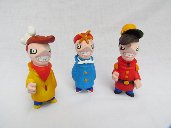 The Snap, Crackle and Pop Crew Gobi Customs by Alex Vaughan - Tenacious Toys® - 3