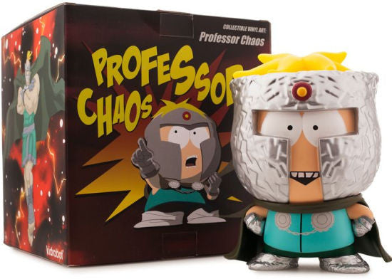 South Park The Fractured But Whole Professor Chaos medium vinyl 7-inch figure by Kidrobot - Tenacious Toys® - 3