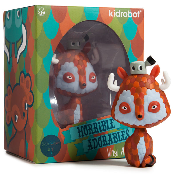 Kidrobot Horrible Adorables Spruce Spricket 4in vinyl figure - Tenacious Toys® - 4