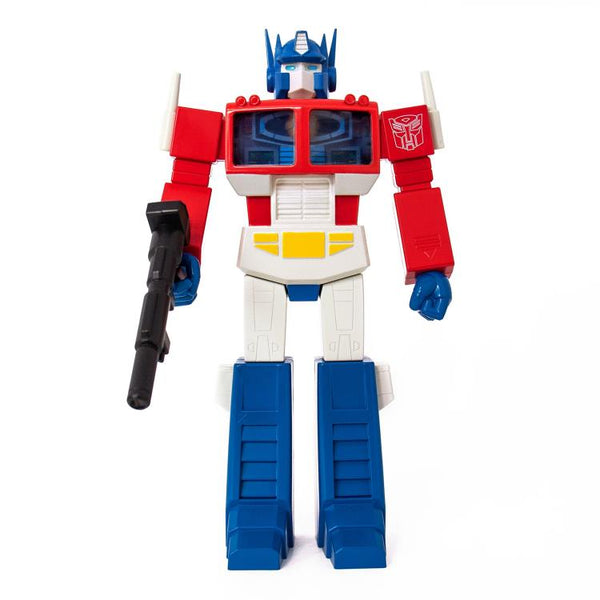 Super7 Transformers Super Cyborg G1 Optimus Prime 12-inch vinyl action figure
