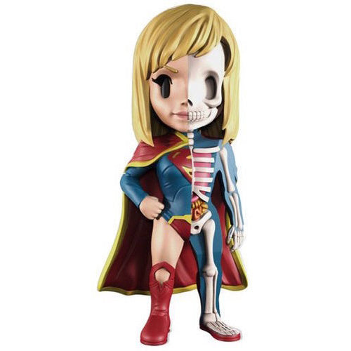 XXRAY Supergirl 4-inch figure by MightyJaxx and Jason Freeny