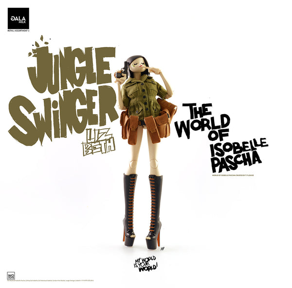 PREORDER 3A World of Isobelle Pascha Wave 3 Jungle Swinger Lizbeth - Tenacious Toys® - 3