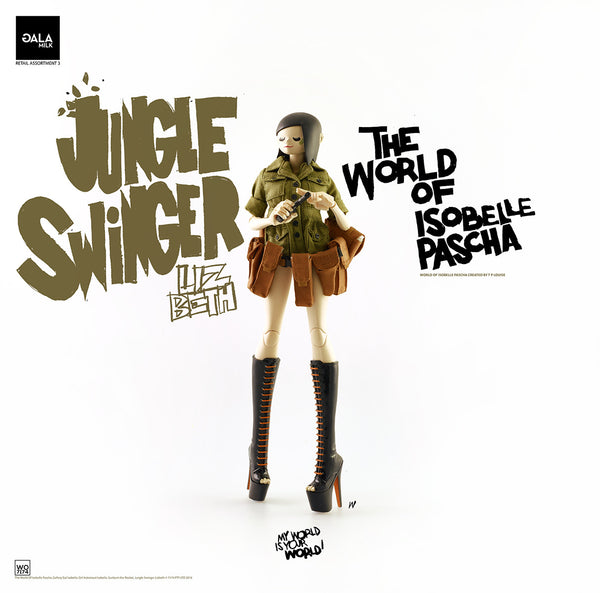 PREORDER 3A World of Isobelle Pascha Wave 3 Jungle Swinger Lizbeth - Tenacious Toys® - 4