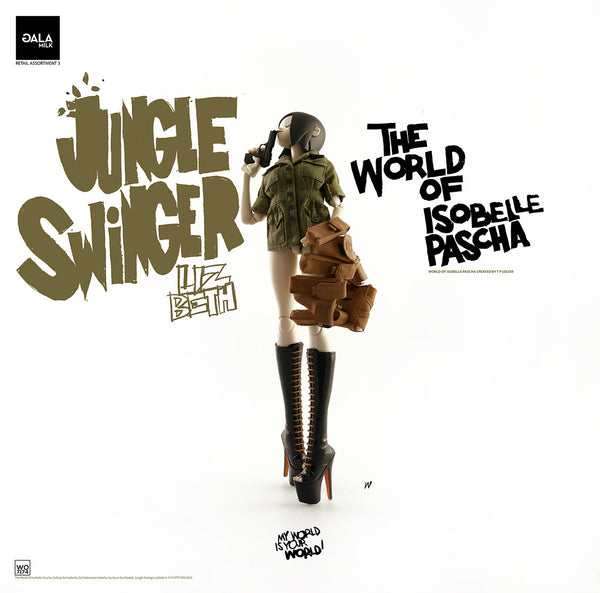 PREORDER 3A World of Isobelle Pascha Wave 3 Jungle Swinger Lizbeth - Tenacious Toys® - 6