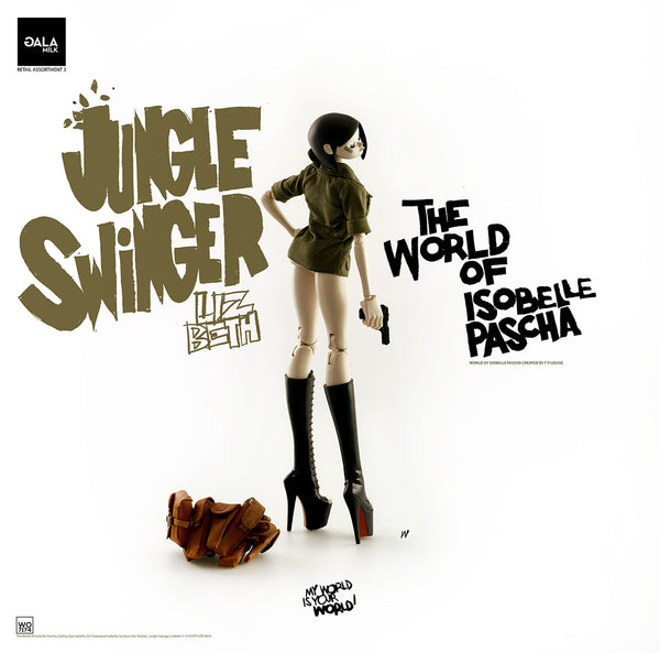 PREORDER 3A World of Isobelle Pascha Wave 3 Jungle Swinger Lizbeth - Tenacious Toys® - 5