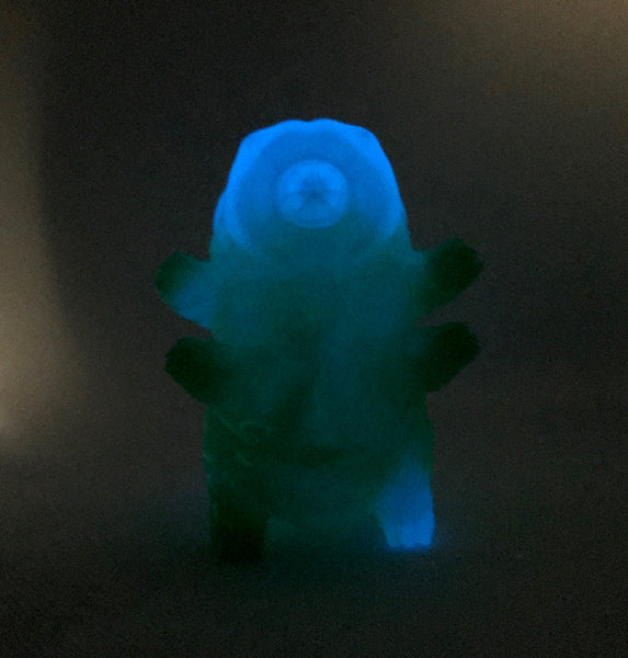Tarbus the Tardigrade NYC Toxic Bloom Edition 3-inch GID vinyl figure by DoomCo (NYCC Exclusive)