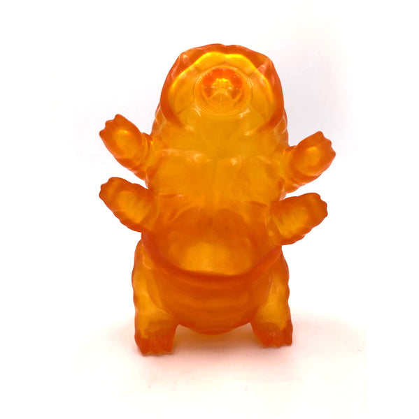 Tarbus the Tardigrade Orange 3-inch vinyl figure by DoomCo