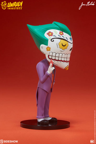 Joker Calavera 7.8-inch vinyl figure by Jose Pulido x Unruly Industries