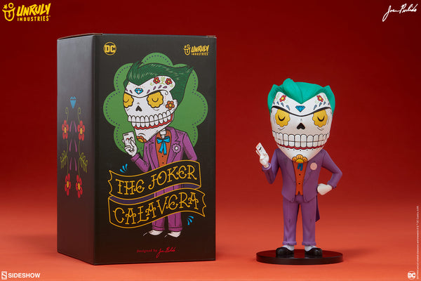 Joker Calavera 7.8-inch vinyl figure by Jose Pulido x Unruly Industries Unruly Industries Vinyl Art Toy Tenacious Toys®