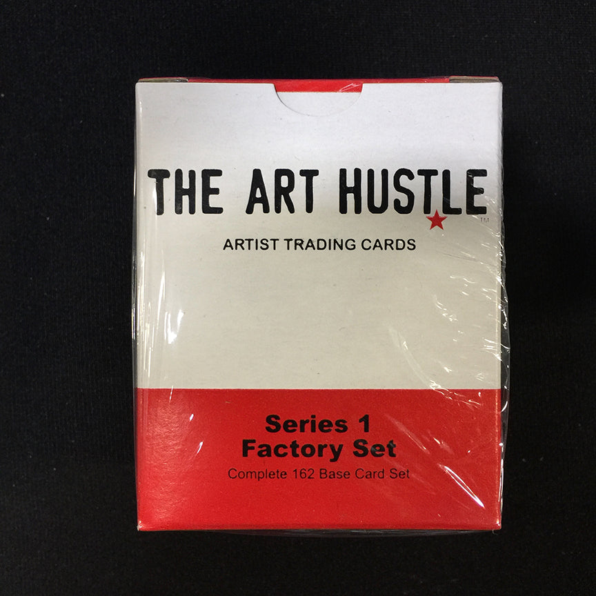 The Art Hustle Series 1 Trading Cards Factory Box Set Sidekick Labs Trading Cards Tenacious Toys®
