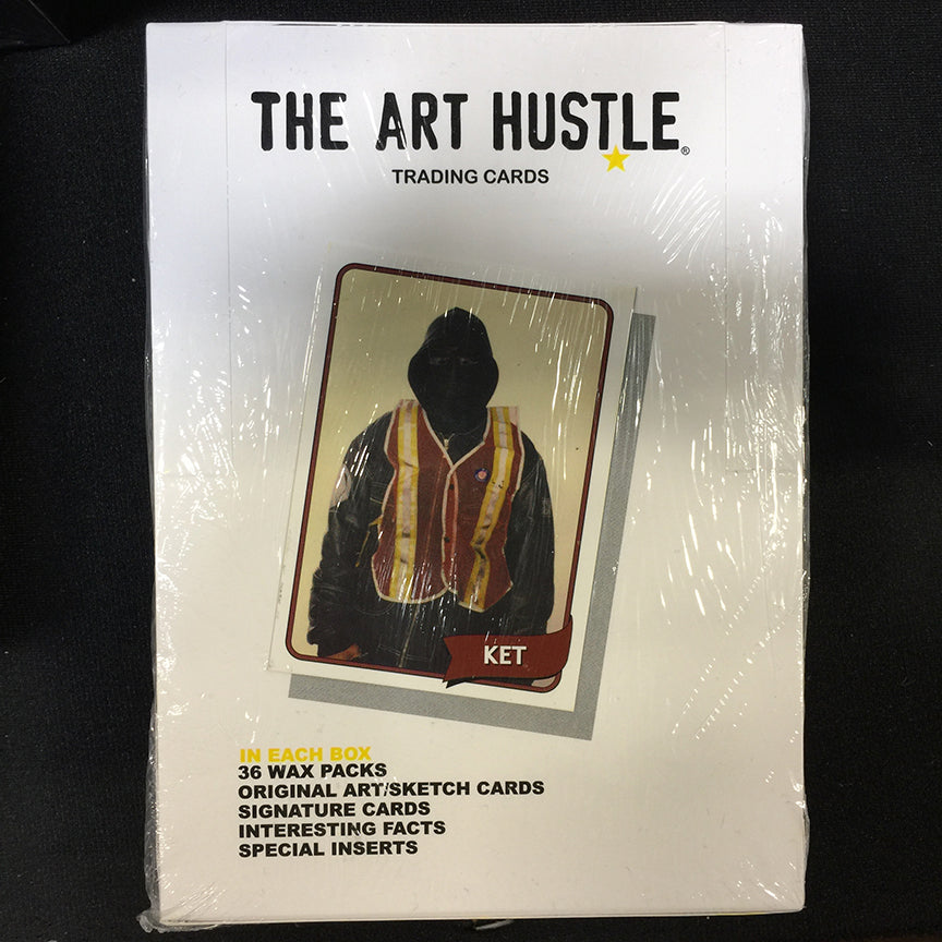 The Art Hustle Series 3 Trading Cards Box of 36 Wax Packs