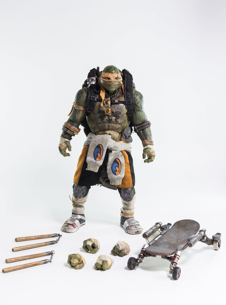 3A x TMNT Out of the Shadows Michelangelo 1/6 scale action figure 3A 3A Tenacious Toys®