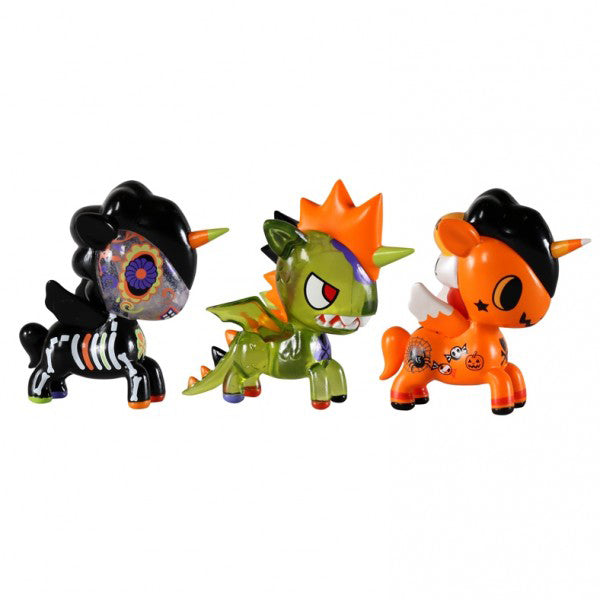 tokidoki Unicorno Halloween 3-Pack of 2.75 inch figures