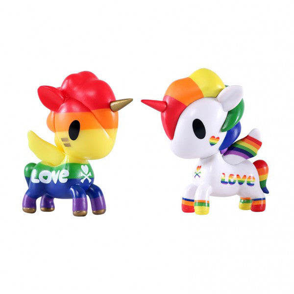 tokidoki Unicorno Pride 2-Pack of 2.75-inch figures