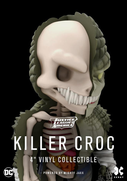 XXRAY Killer Croc 4-inch figure by MightyJaxx and Jason Freeny (Wave 4) MightyJaxx Tenacious Toys®