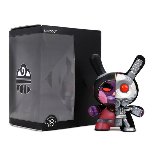 "Kidrobot 5"" Void Mecha Half Ray Dunny by Dirty Robot Destroy Edition Kidrobot Kidrobot Tenacious Toys®"