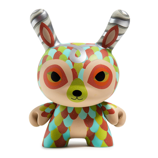 Kidrobot The Curly Horned Dunnylope 5-inch Dunny by Horrible Adorables Kidrobot Kidrobot Tenacious Toys®
