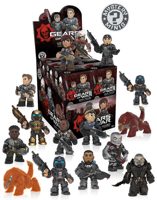 Funko Mystery Minis: Gears of War Series 1 Full Case of 12 Pieces - Tenacious Toys® - 1