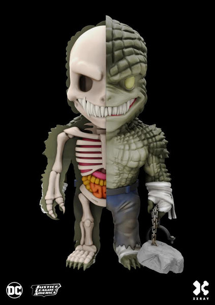 XXRAY Killer Croc 4-inch figure by MightyJaxx and Jason Freeny (Wave 4) MightyJaxx Vinyl Art Toy Tenacious Toys®