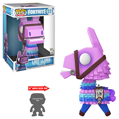 Funko POP! Games Fortnite 10-inch Supersized Loot Llama PREORDER SHIPS JUNE Tenacious Toys®  Tenacious Toys®