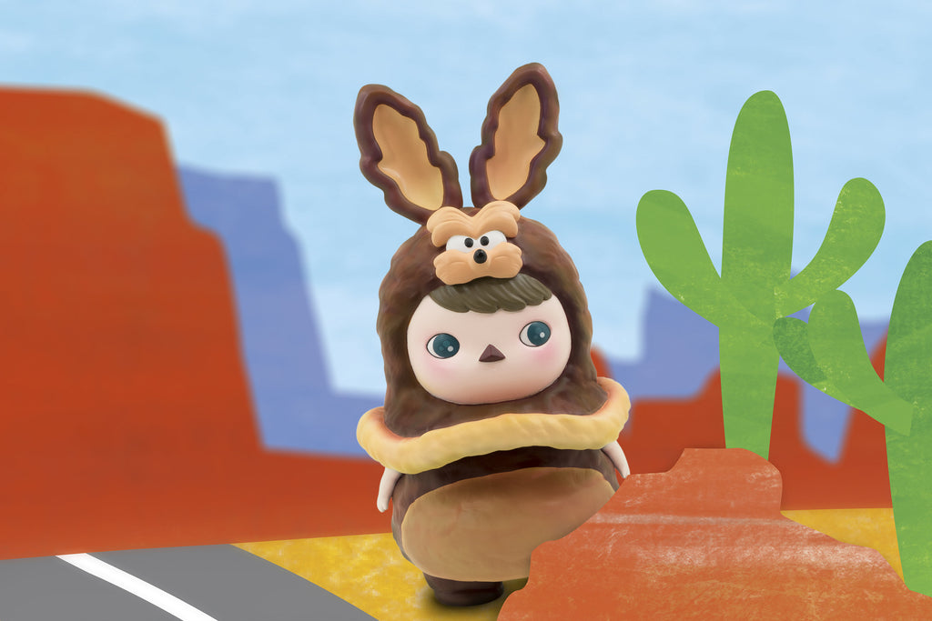 WB Get Animated Wile E. Coyote 8-inch vinyl figure by Pucky & ToyQube PREORDER