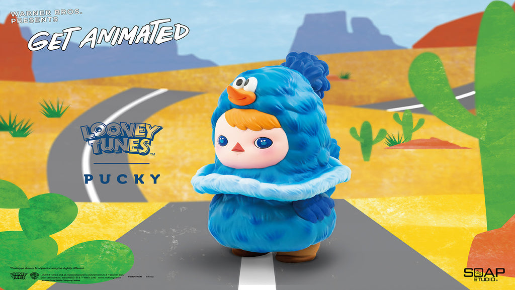 WB Get Animated Roadrunner 8-inch vinyl figure by Pucky & ToyQube ToyQube Vinyl Art Toy Tenacious Toys®