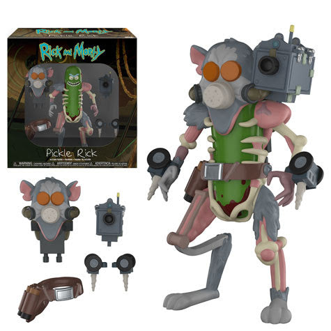 Rick & Morty Pickle Rick 5-inch Action Figure by Funko