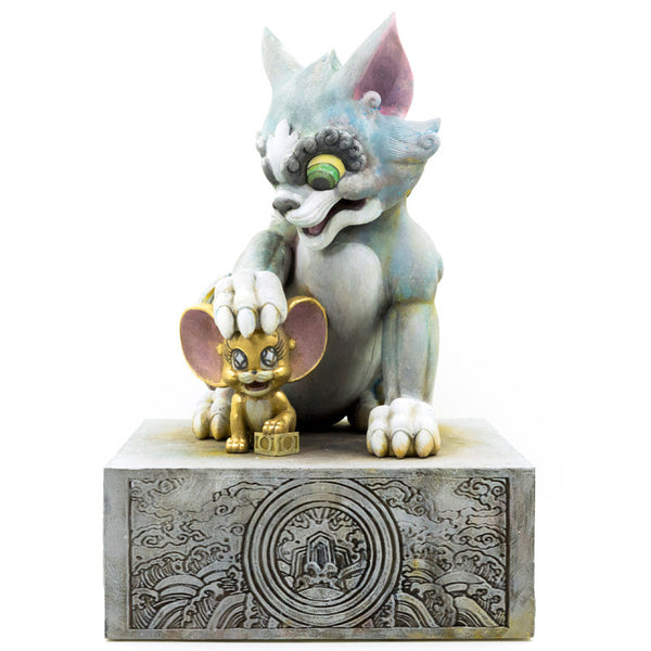 "WB Get Animated Masterpiece Tikka Tom & Jerry 11"" polystone figure by ToyQube"