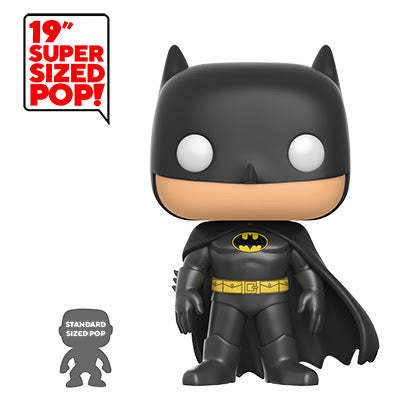 "Funko Pop! Heroes 19"" DC Batman Supersized figure PREORDER COMING SOON Funko Funko Tenacious Toys®"