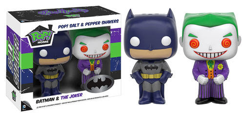 Funko Home DC Batman and Joker Salt and Pepper Shaker Set - Tenacious Toys®
