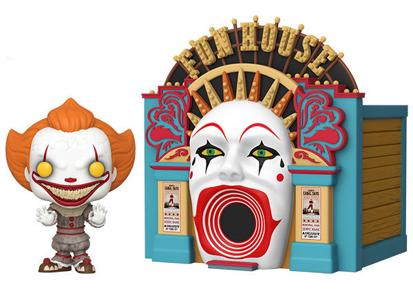 Funko POP Town IT Chapter 2 Demonic Pennywise with Funhouse Playset PREORDER ships soon Funko Funko Tenacious Toys®