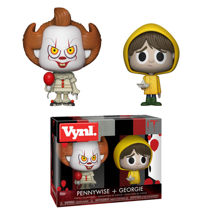 Funko Vynl IT - Pennywise & Georgie Vinyl Collectible Toy 2-Pack PREORDER