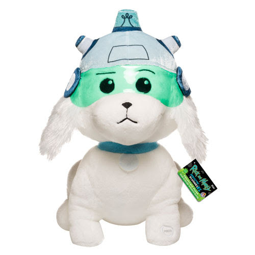Funko Rick and Morty Galactic Plushie XL 12-inch Snowball Plush with Sound